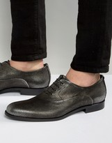 HUGO BOSS BOSS HUGO by Sigma Metallic Oxford Shoes