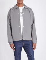 adidas SPEZIAL Touring cotton-blend jacket