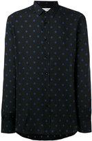 Saint Laurent signature Yves collar printed shirt - men - Viscose - 40