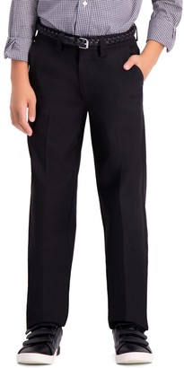 Haggar Boys 8-20 Cool 18 Pro Boys Slim Fit Pants