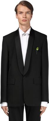 Balenciaga Seamless Wool Tuxedo Jacket