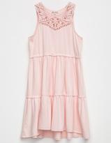 Billabong Macrame Trim Girls Dress