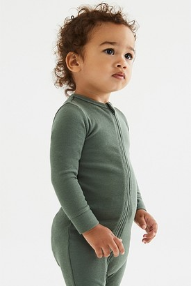 Country Road Organically Grown Cotton Unisex Rib Jumpsuit