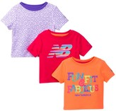 New Balance Graphic Tees - Pack of 3 (Baby Girls)