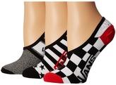 Vans Shadow Squad Canoodles 3-Pack Women's Crew Cut Socks Shoes