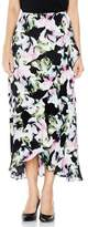 Vince Camuto Women's Glacier Floral Ruffle Skirt