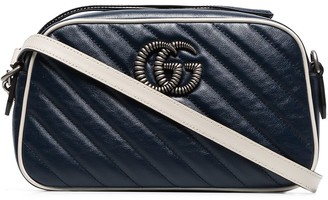 Gucci Marmont small quilted leather camera bag