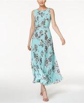 Jessica Howard Petite Floral-Print Maxi Dress