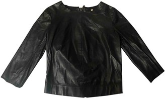 J Brand Black Leather Top for Women