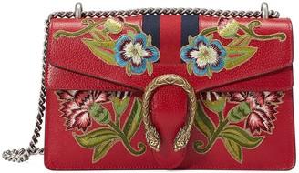 Gucci Dionysus embroidered leather shoulder bag