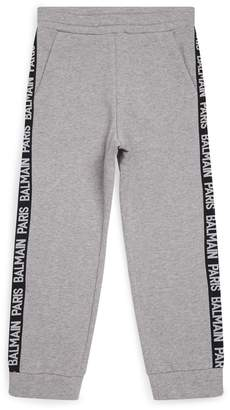 Balmain Tape Detail Sweatpants