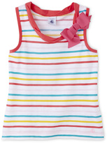 Petit Bateau Girls striped camisole top