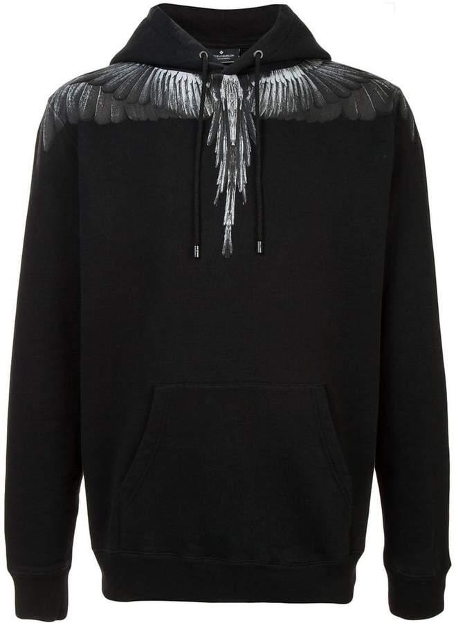 Marcelo Burlon County of Milan Wings print hoodie