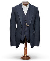Ralph Lauren RRL Collins Indigo Suit Jacket