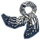 Tory Burch T Circle Silk Square Scarf