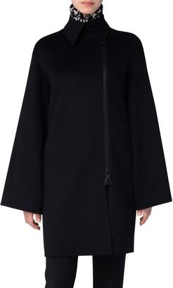Akris Oversize Double Face Cashmere Coat