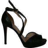 Max Mara Black Sandals