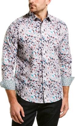Robert Graham Royal Arrival Classic Fit Woven Shirt