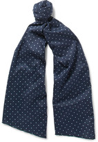 Engineered Garments Polka-Dot Cotton Scarf