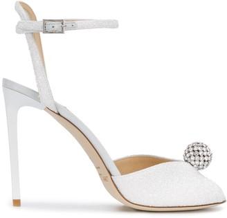 Jimmy Choo Sacora crystal-embellished sandals