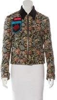 Miu Miu 2016 Embellished Jacquard Jacket