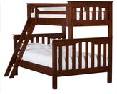 Pottery Barn Kids Kendall Twin-Over-Full Bunk Bed