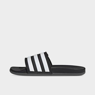 adidas Men's Essentials Adilette Comfort Adjustable Slide Sandals