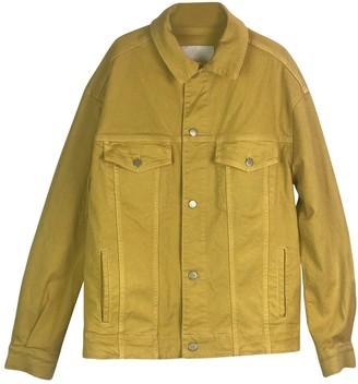 N. Holzweiler \N Yellow Denim - Jeans Jackets