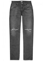 Citizens Of Humanity Citizens Of Humanity Noah Grey Distressed Skinny Jeans