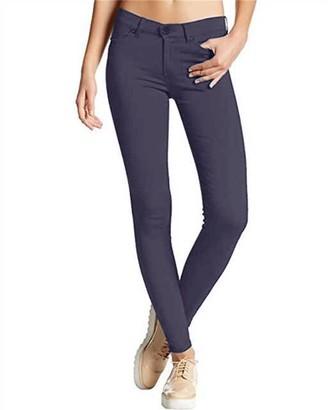 Kidsform Women's Straight Leg Trousers Classic Elasticated Waist Pants Navy Size 2XL/UK 14