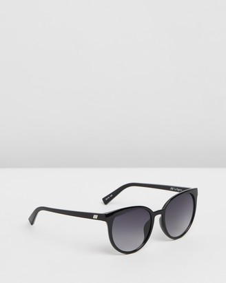 Le Specs Women's Black Round - Armada - Size One Size at The Iconic