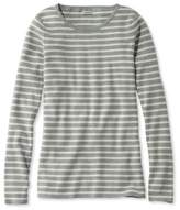 L.L. Bean Women's Soft Ribbed Striped Sweater