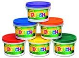 Crayola Modeling Dough Bucket, 3 lbs - Multi-Colored (6 Buckets Per Set)
