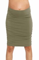 Angel Maternity Ruched Maternity Skirt
