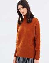 SABA Rosie Funnel-Neck Knit
