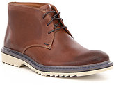 Rockport Men's Jaxson Chukka Lace-Up Leather Boots
