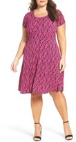 MICHAEL Michael Kors Plus Size Women's Mamba A-Line Dress