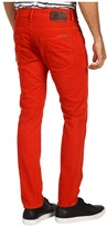 G Star G-Star - 3301 Super Slim in Red Pepper Bull Twill (Red Pepper Bull Twill) - Apparel