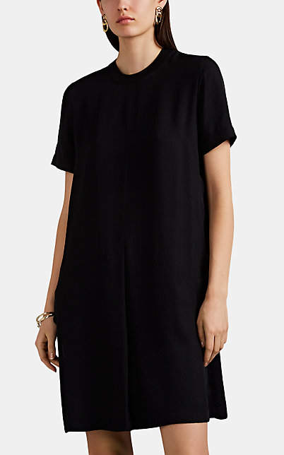 Rag & Bone Women's Aiden Button-Detailed T-Shirt Dress - Black