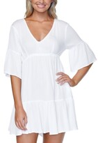 Thumbnail for your product : Raisins Juniors Solid Tavarua Dress Cover-Up Women's Swimsuit