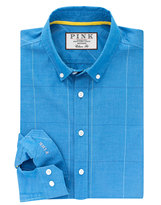 Thomas Pink Healy Check Classic Fit Button Cuff Shirt