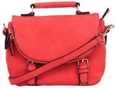 Urban Expressions Zipper Messenger Bag