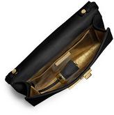Michael Kors Gia Studded Leather Clutch