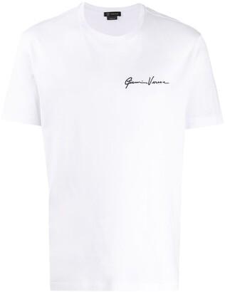 Versace GV Signature print T-shirt
