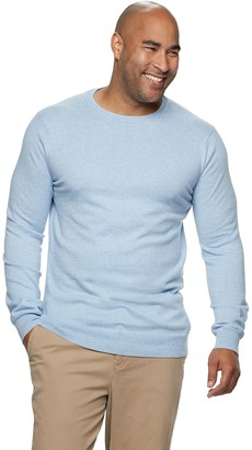 Sonoma Goods For Life Big & Tall Knitted Crewneck Pullover Sweater