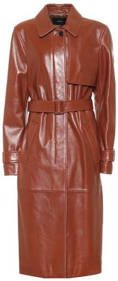 Joseph Cia leather trench coat