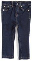 Infant Girl's 7 For All Mankind Skinny Fit Jeans