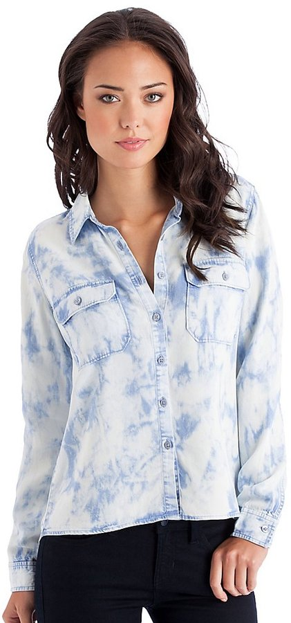 GUESS Utility Tie-Dyed Shirt