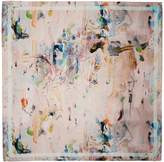 Klements - Large Square Scarf Oil Painting Print