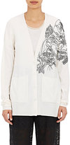 Stella McCartney Women's Embroidered Cardigan-WHITE